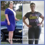 Crissy lost 68 pounds