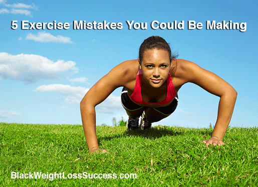 exercise mistakes