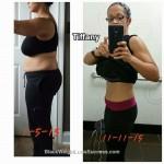 Tiffany lost 44 pounds