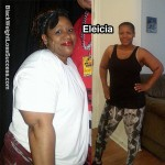 Eleicia lost 51 pounds