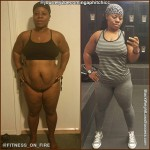 Tiffany lost 34 pounds