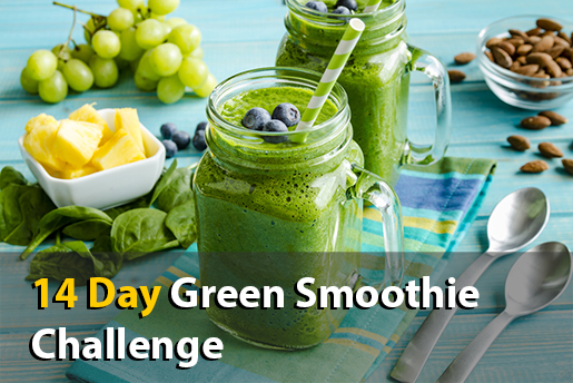 weight loss green smoothie challenge
