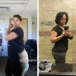 Camille lost 35 pounds