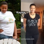 Kaysia lost 51 pounds