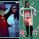 Nashona lost 120 pounds