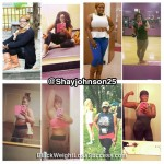 Shay lost 40 pounds