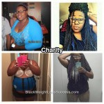 Charity lost 47 pounds