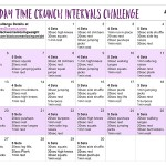 30 Day Time Crunch Intervals Challenge
