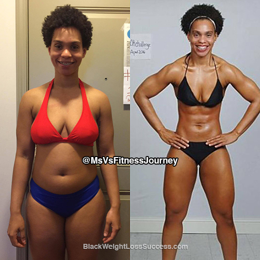 Vanetza lost 25 pounds and transformed in 12 weeks | Black