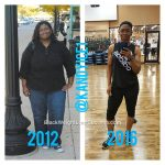 Candice lost 135 pounds