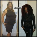Michelle lost 90 pounds