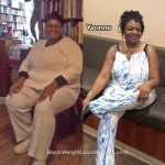 Yvonne lost 91 pounds