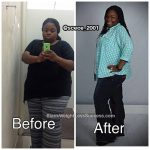 Charity lost 109 pounds
