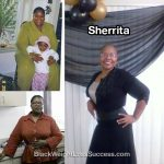Sherrita lost 135 pounds