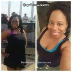 April lost 56 pounds
