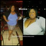 Monica lost 60 pounds