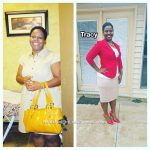 Tracy lost 41 pounds
