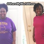 LaKisha lost 83 pounds