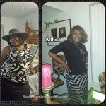 Althea lost 82 pounds