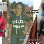 Angel lost 40 pounds