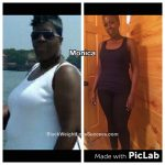 Monica lost 127 pounds
