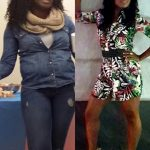 Jumoke lost 32 pounds