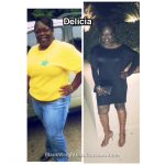 Delicia lost 92 pounds