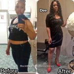 Dee lost 48 pounds