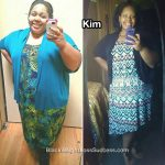 Kim lost 91 pounds