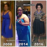 Stephanie lost 67 pounds