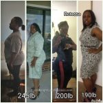 Rotessa lost 55 pounds