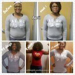 April lost 20 pounds