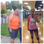 Glenda lost 99 pounds