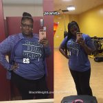 Jeanita lost 84 pounds