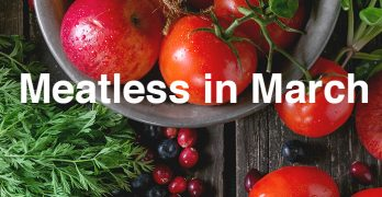Meatless in March Challenge