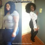 Modupe lost 44 pounds
