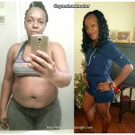Quesha lost 156 pounds