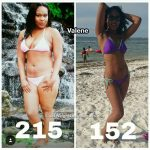 Valene lost over 70 pounds