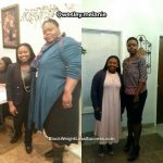 Melanie lost 228 pounds