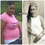 Khetsiwe lost 62 pounds