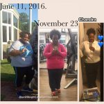 Chandra lost 60 pounds
