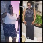 Delicia lost 103 pounds