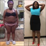 Jalena lost 33 pounds