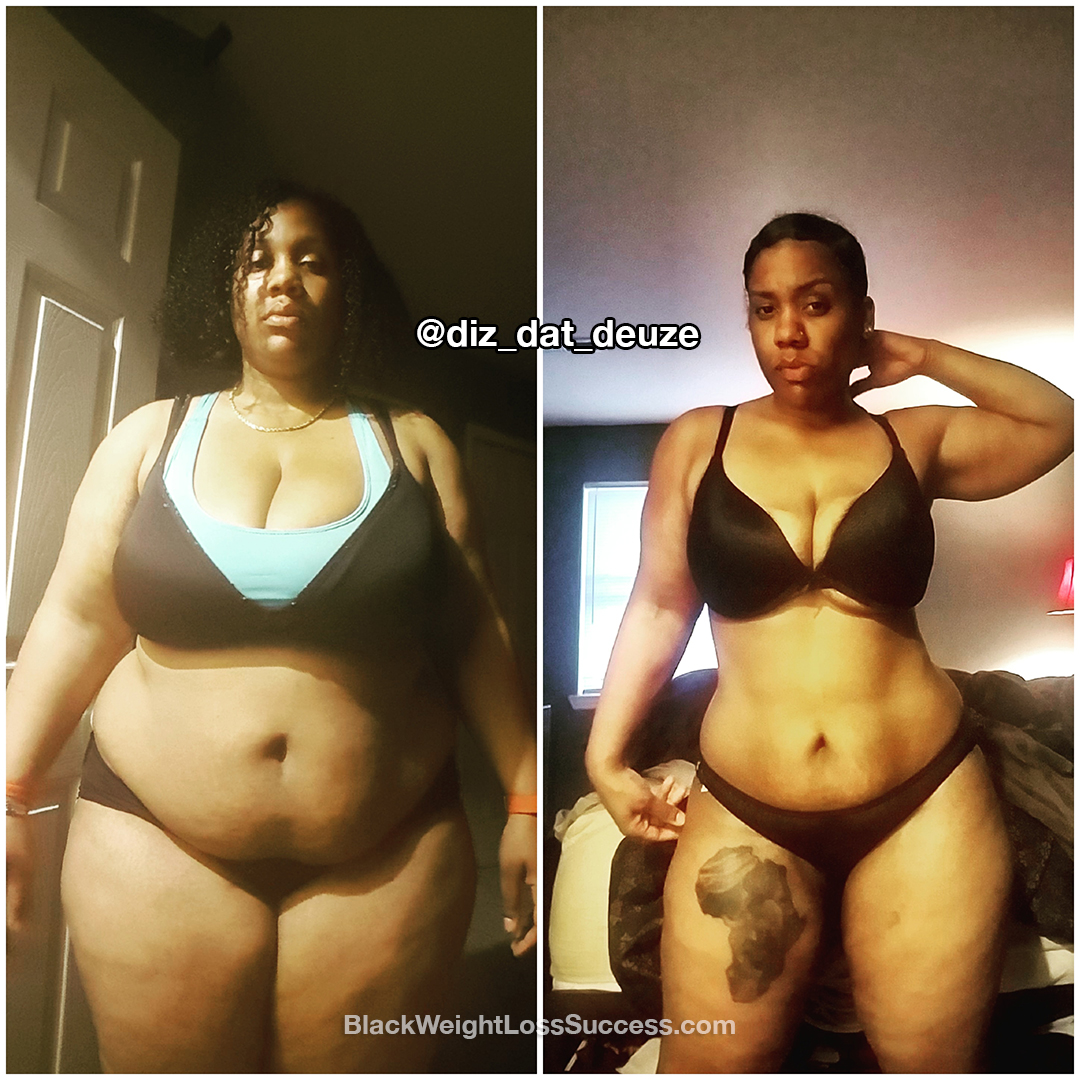 Meagan Lost 94 Pounds Black Weight Loss Success