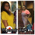 Charita lost 96 pounds
