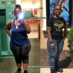 Estriana lost 77 pounds