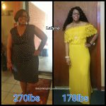 Latyria lost 92 pounds