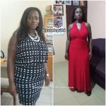 Adepa lost 42 pounds