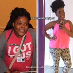 Marquisha lost 40 pounds