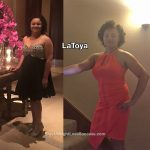 LaToya lost 33 pounds